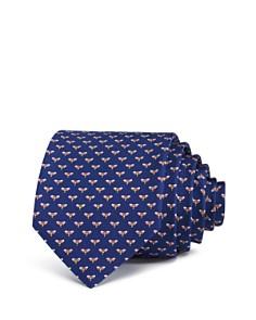 Salvatore Ferragamo Falena Neat Bumble Bee Silk Classic Tie - Bloomingdale's_0