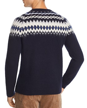The Men's Store at Bloomingdale's - Merino Wool Fair Isle Sweater - 100% Exclusive