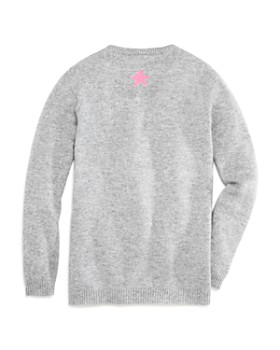 AQUA - Girls' Stars Cashmere Sweater - Big Kid