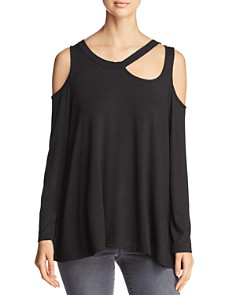 Alison Andrews - Asymmetric Cold-Shoulder Top