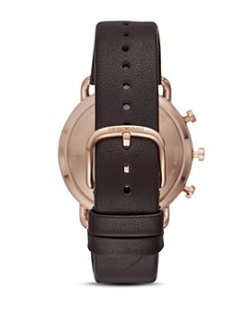Emporio Armani - Hybrid Smartwatch Brown Leather, 43mm