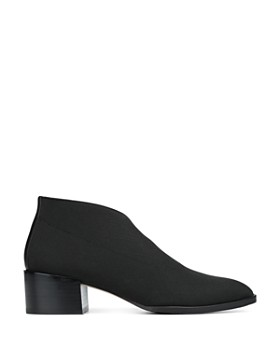 Donald Pliner - Women's Daved Almond Toe Elastic Ankle Booties