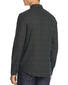 The Men's Store at Bloomingdale's - Plaid Houndstooth-Print Regular Fit Flannel Shirt - 100% Exclusive