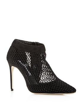 Brian Atwood - Women's Vain Mesh & Suede Pointed Toe Pumps