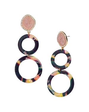 Baublebar Destine Resin Drop Earrings