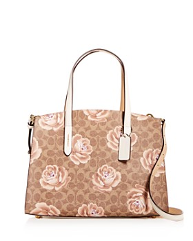 COACH - Charlie Rose Print Large Tote