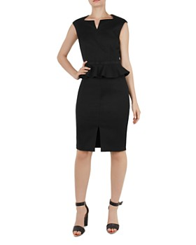 Ted Baker - Nadaed Peplum Dress