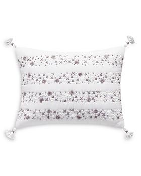"Splendid - Embroidered Decorative Pillow, 12"" x 16"""