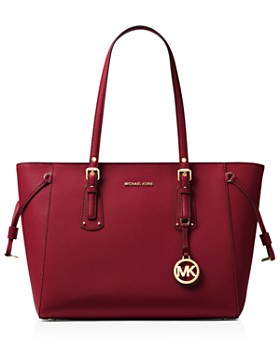 MICHAEL Michael Kors - Voyager Multi-Function Top Zip Medium Leather Tote
