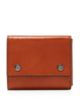 Ted Baker - Wolver Tri-Fold Leather Money Clip
