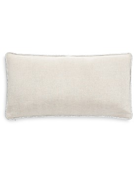 "kate spade new york - Metallic Linen Decorative Pillow, 12"" x 20"""
