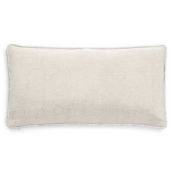 "kate spade new york - Metallic Linen Decorative Pillow, 12"" x 20"""