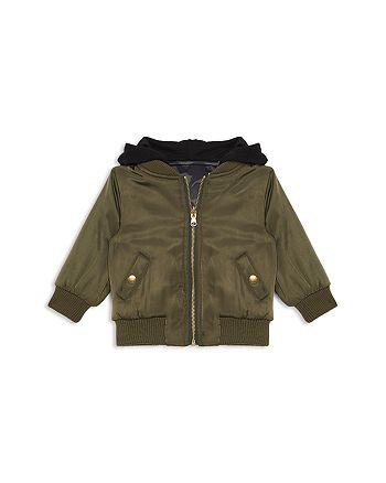 56c452d3f7af Bardot Junior - Boys  Satin Tiger Bomber Jacket - Baby