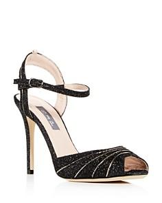 SJP by Sarah Jessica Parker - Women's Monroe Glitter High-Heel Sandals