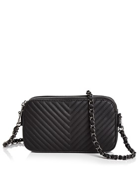 AQUA - Chevron Medium Crossbody - 100% Exclusive