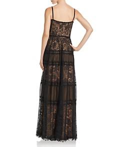Tadashi Shoji - Lace Bustier Gown