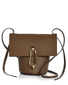 ZAC Zac Posen - Belay Medium Nubuck Leather Crossbody Bucket Bag