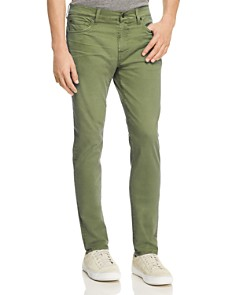 7 For All Mankind - Adrien Taper Slim Fit Jeans in Military