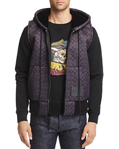 COACH - Signature Neoprene Hooded Vest