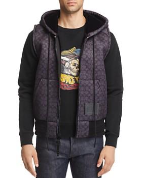 COACH - Signature Neoprene Hooded Vest