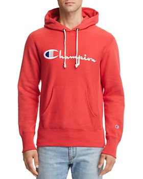 Champion - Reverse Weave Embroidered Logo Hooded Sweatshirt