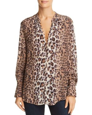 Joie Tariana Leopard-Print Shirt