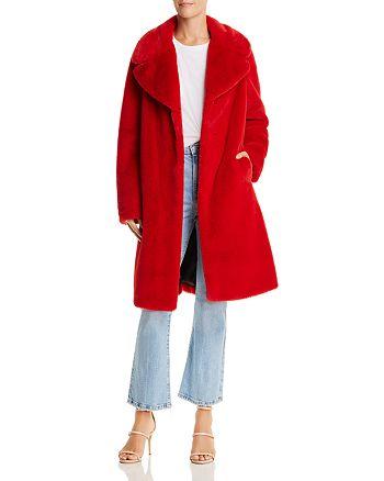 AQUA - Faux Fur Coat - 100% Exclusive