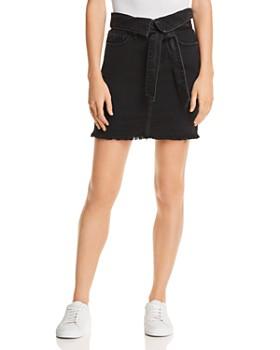 Nobody - Vertigo Denim Skirt in Déjà Vu