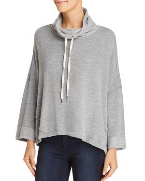 Splendid Funnel-Neck Drop-Shoulder Sweater