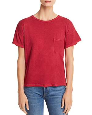 rag & bone/Jean Vintage Raw-Edge Tee