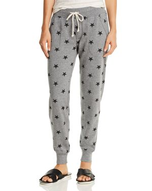 ALTERNATIVE STAR PRINT FLEECE JOGGER PANTS