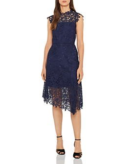REISS - Ivana Asymmetric Lace Dress - 100% Exclusive