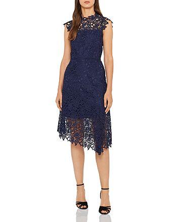 REISS - Ivana Asymmetric Lace Dress - 100% Exclusive