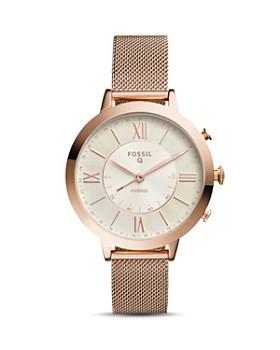 Fossil - Q Jacqueline Rose Gold-Tone Hybrid Smartwatch, 36mm