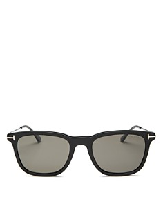 Tom Ford - Men's Arnaud Combo Polarized Square Sunglasses, 53mm