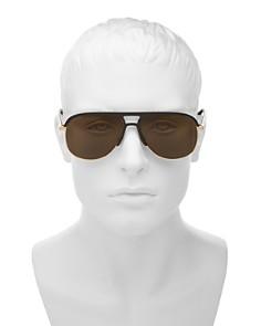 Gucci - Men's Flat Top Aviator Sunglasses, 60mm