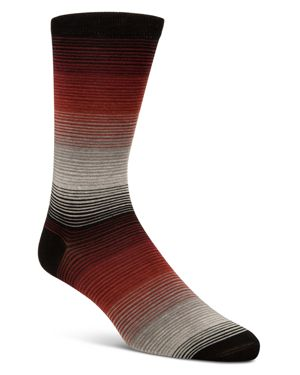 Cole Haan Gradient Fine Stripe Socks