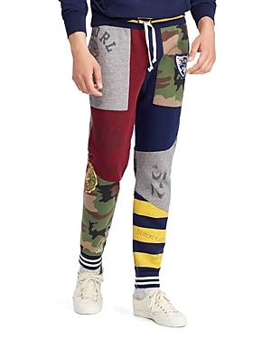 Polo Ralph Lauren Patchwork Fleece Jogger Pants