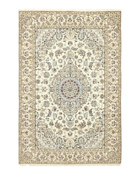 """Solo Rugs - Nain Ayat Hand-Knotted Area Rug, 6'9"""" x 10'2"""""""