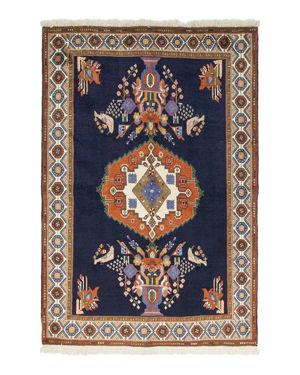 Solo Rugs Afshar Anabelle Hand-Knotted Area Rug, 4'9 x 7'1