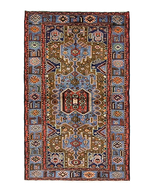 Solo Rugs Hamadan Fortune Hand-Knotted Area Rug, 4'7 x 7'5