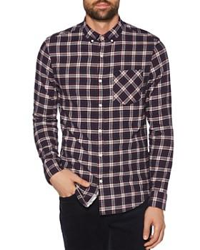Original Penguin - Plaid Flannel Regular Fit Button-Down Shirt