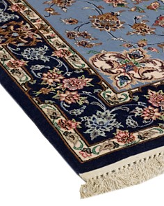 """Solo Rugs - Isfahan Spencer Hand-Knotted Runner Rug, 2'9"""" x 13'9"""""""