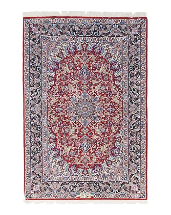 Bloomingdale S Solo Rugs Isfahan Delilah Hand Knotted Area
