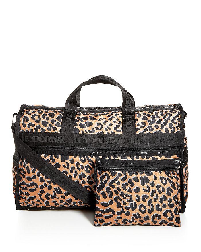 b5d98ae19548 LeSportsac - Candace Leopard Print Weekender Duffel Bag