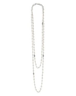 LAGOS - Sterling Silver Luna Cultured Freshwater Pearl Strand Necklace, 36""