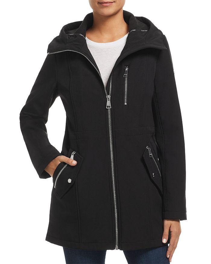 Calvin Klein - Zip-Front Trench Coat