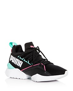 PUMA - Women's Muse Maia Street Knit Lace Up Sneakers