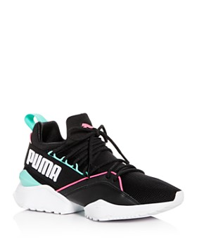 PUMA - Women s Muse Maia Street Knit Lace Up Sneakers ... 134c1c83216b