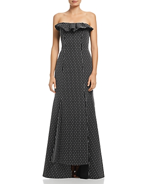 C/meo Collective C/MEO COLLECTIVE EVEN LOVE EMBROIDERED GOWN